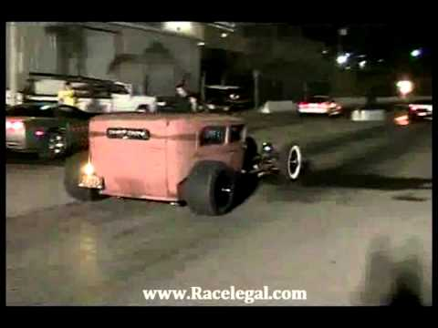 Chicken Coupe Drag Racing Racelegal com 1-6-2012