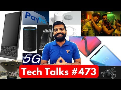 Tech Talks #473 - Despacito Hack? Double Notch, Google Home India, PayPal Debit Card, NASA Mars