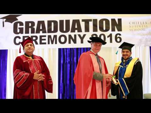 Chifley Business School 3rd Graduation Ceremony