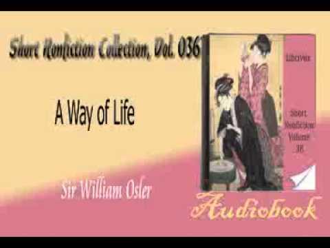 A Way of Life Sir William Osler audiobook