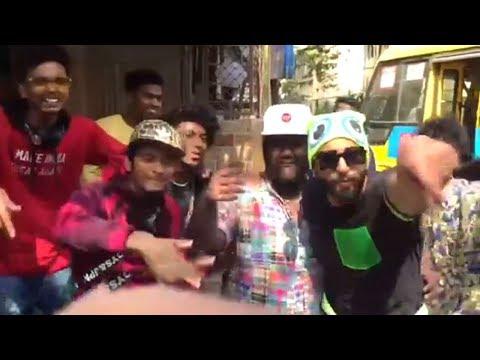 Ranveer Singh Mere Gully  Mein Rap In Real Life With Gully Boy Fan's