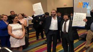 Ultima Hora | Nayib Bukele y Félix Ulloa Oficialmente Presidente Y Vicepresidente de El Salvador