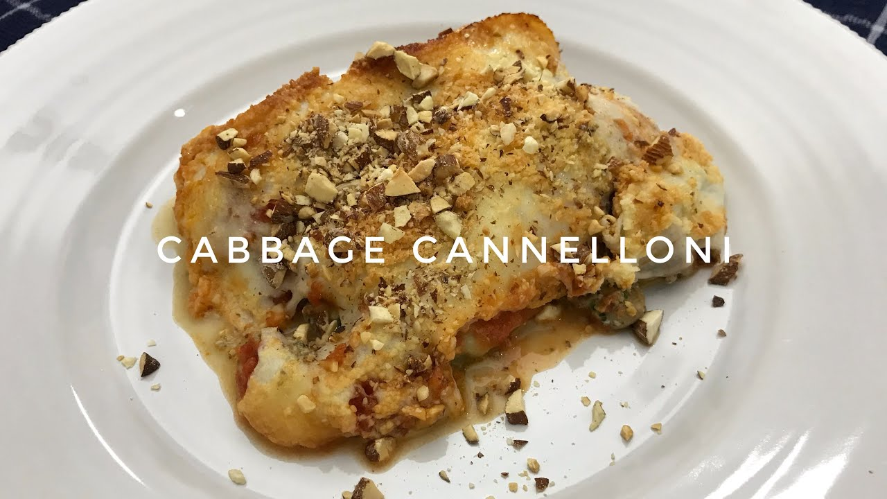 Cabbage Cannelloni with creamy mushroom filling❤️