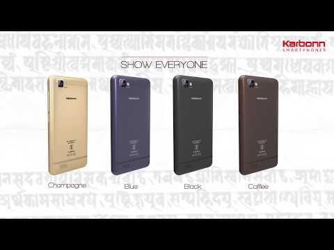 Introducing Karbonn A40 Indian | Product Overview