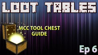 Minecraft: Modding With MCC Tool Chest | Ep 6 Loot Tables |