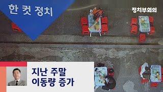 [복국장의 한 컷 정치] 지난 주말 수도권 이동량 8.3% 증가 / JTBC 정치부회의