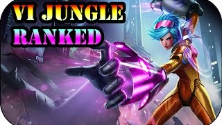 Punch First! Vi Jungle | Ranked League Of Legends Gameplay