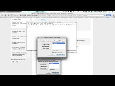 How To Set Up The Profile Manager In Mozilla Firefox Mozilla Firefox Tips More