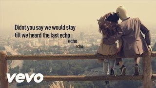 Foxes - Echo (Lyric Video)