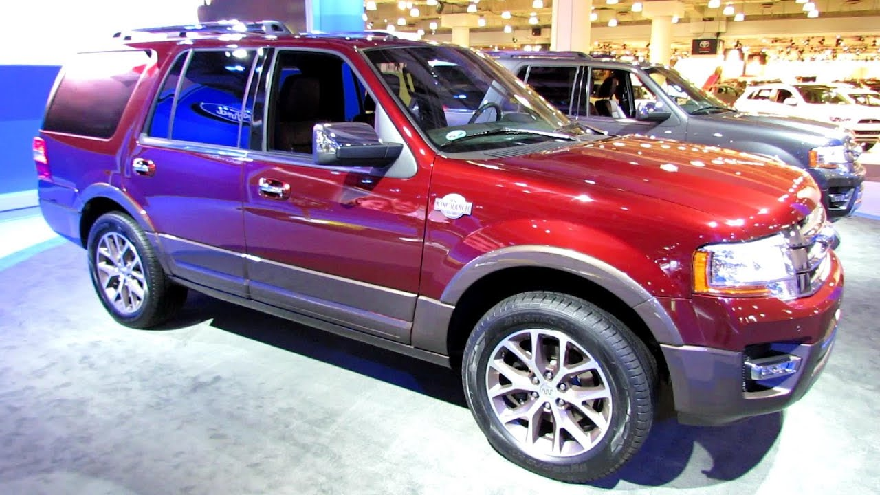 Ford Expedition El >> 2015 Ford Expedition King Ranch - Exterior and Interior Walkaround - 2014 New York Auto Show ...
