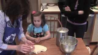 Baking Greek Cookies With Yiayia Vikki And Erin