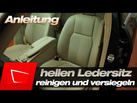 fcf0e6876ed27 Ledersitze reinigen und versiegeln - Anleitung - helles Leder reinigen und  pflegen Tenzi Detailer - YouTube