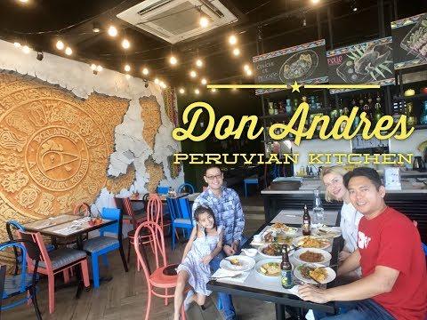 Don Andres Peruvian Kitchen Pollo a la Brasa Pioneer Center Supermarket Pasig Manila