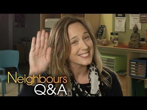 Eve Morey (Sonya) Part 1 - Neighbours Q&A