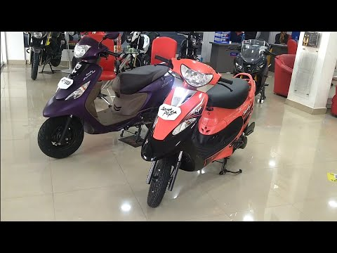 TVS Scooty Pep Plus And TVS Scooty Zest Real-Life Comparison,