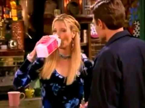 Friends - Phoebe drinking sour milk
