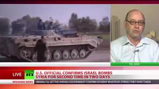 WW3 in ACTION: Massive Israeli AIRSTRIKES hit Damascus MILITARY research site. [SYRIA CONF