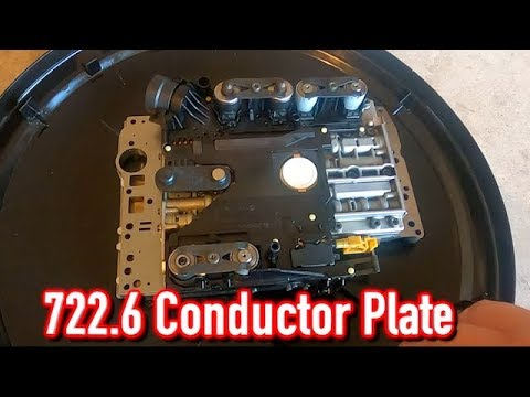 Replacing 722.6 Mercedes Benz Conductor Plate - Limp Mode - Copart 2004 Chrysler Crossfire