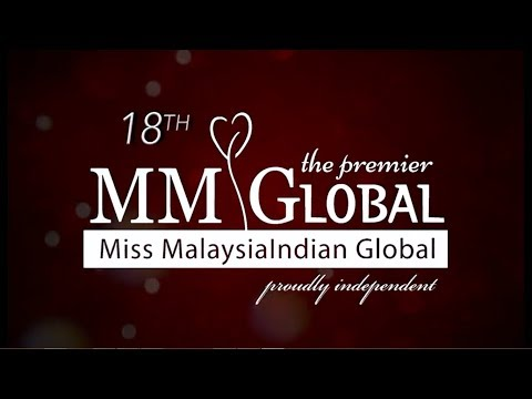 LIVE VOD : 18th Miss MalaysiaIndian Global 2017