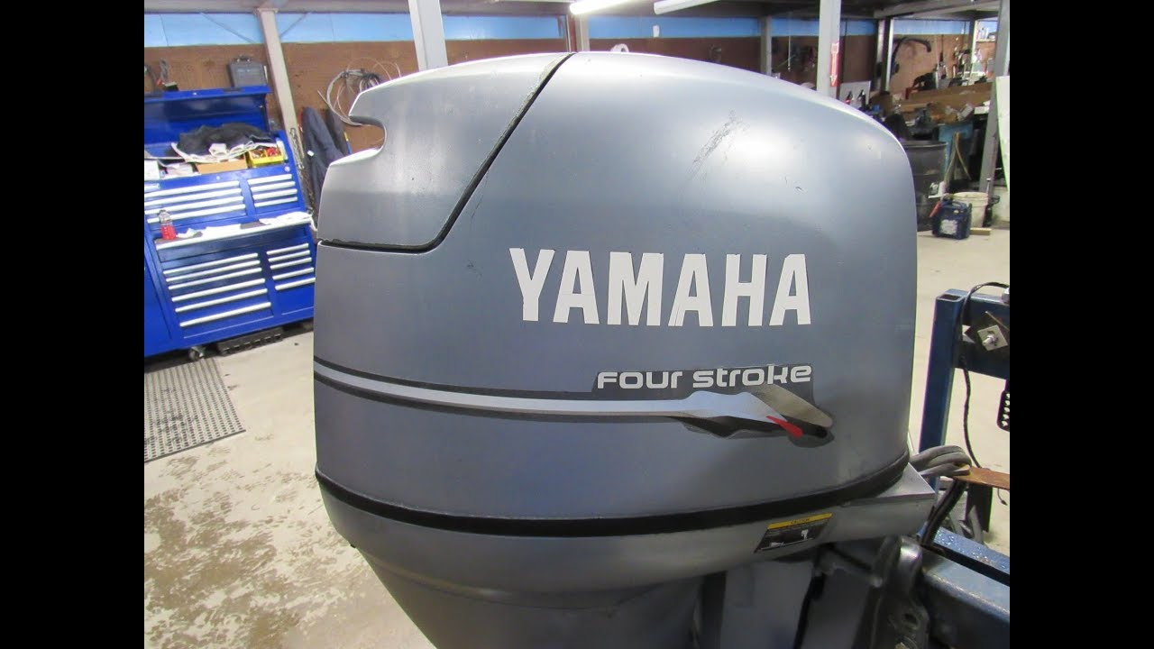 Used 2000 Yamaha 50HP Outboard F50TLRY 20