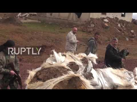 Syria: Security presence in Golan Heights amplified following Israeli jet strikes