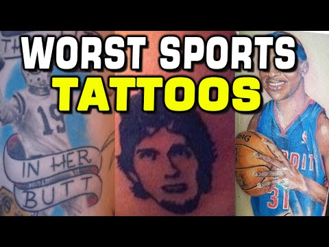 Worst Sports Fan Tattoos What Are They Thinking Youtube