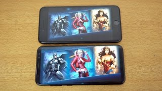 Samsung Galaxy S8 vs iPhone 7 Plus Injustice 2 Gameplay Review! (4K)