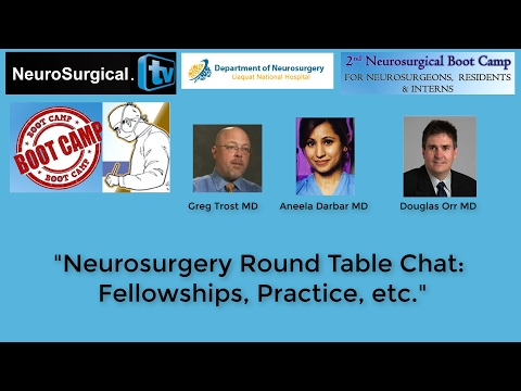 Greg Trost MD, Aneel Darbar MD, Douglas Orr MD: Round Table Chat - Fellowshipts, Practice,