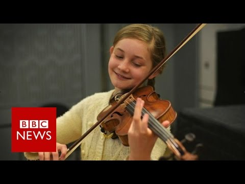 'I'm a little Alma, not a little Mozart' - BBC News