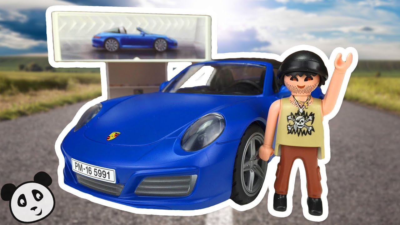 playmobil porsche 911 targa 4s armado y demostraci n del juguete pandido tv youtube. Black Bedroom Furniture Sets. Home Design Ideas