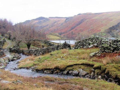 Lake District Country Walk   Borrowdale   Rosthwaite to Watendlath round
