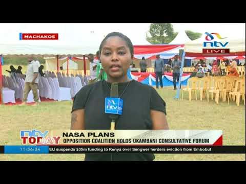 Nasa plans: Opposition coalition hold Ukambani Consultative Forum