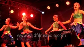 Sikkimese girls dance to South Indian and Bollywood hits
