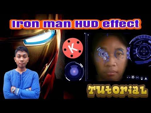 Iron man HUD effect   KINEMASTER TUTORIAL
