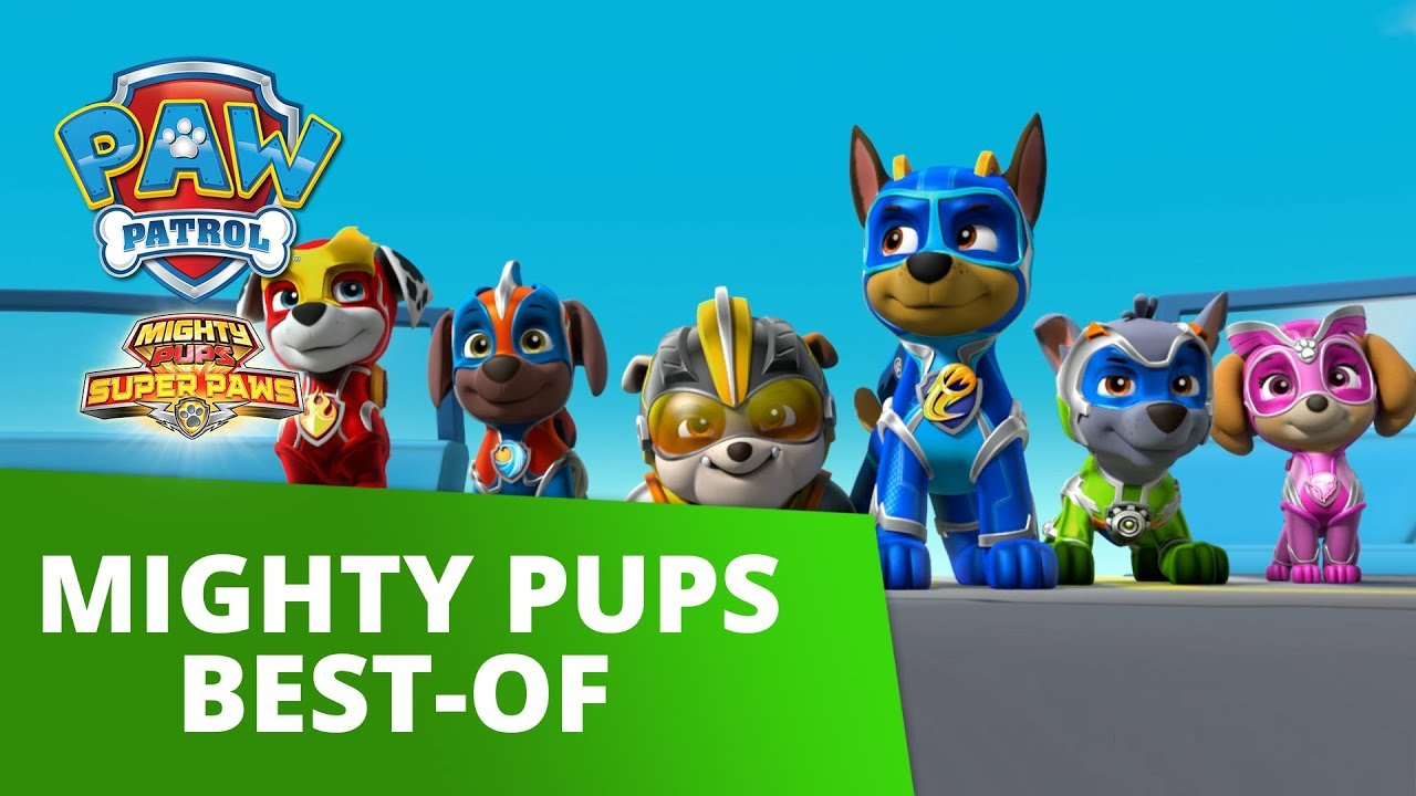 PAW Patrol | Mighty Pups Best-Of | PAW Patrol Official & Friends
