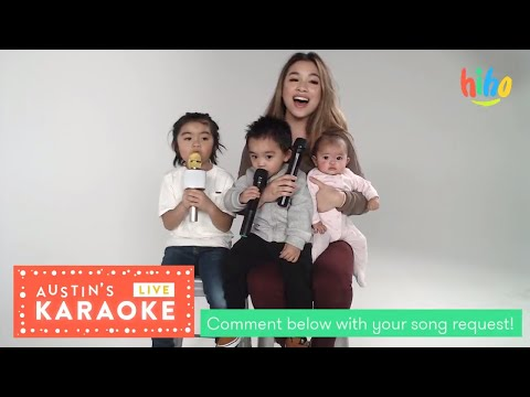 Austin's Live Karaoke | Bruno Mars, Michael Jackson, Moana and more! | HiHo Kids