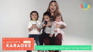Austin's Live Karaoke | Bruno Mars, Michael Jackson, Moana and more! | HiHo Kids