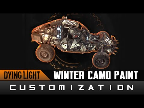 Dying Light: The Following - Winter Camo Paint Job Location