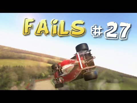 Racing Games FAILS Compilation #27