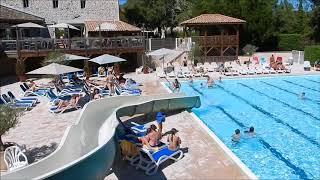 Zwembad van camping Chateau de Boisson in Allègre les Fumades