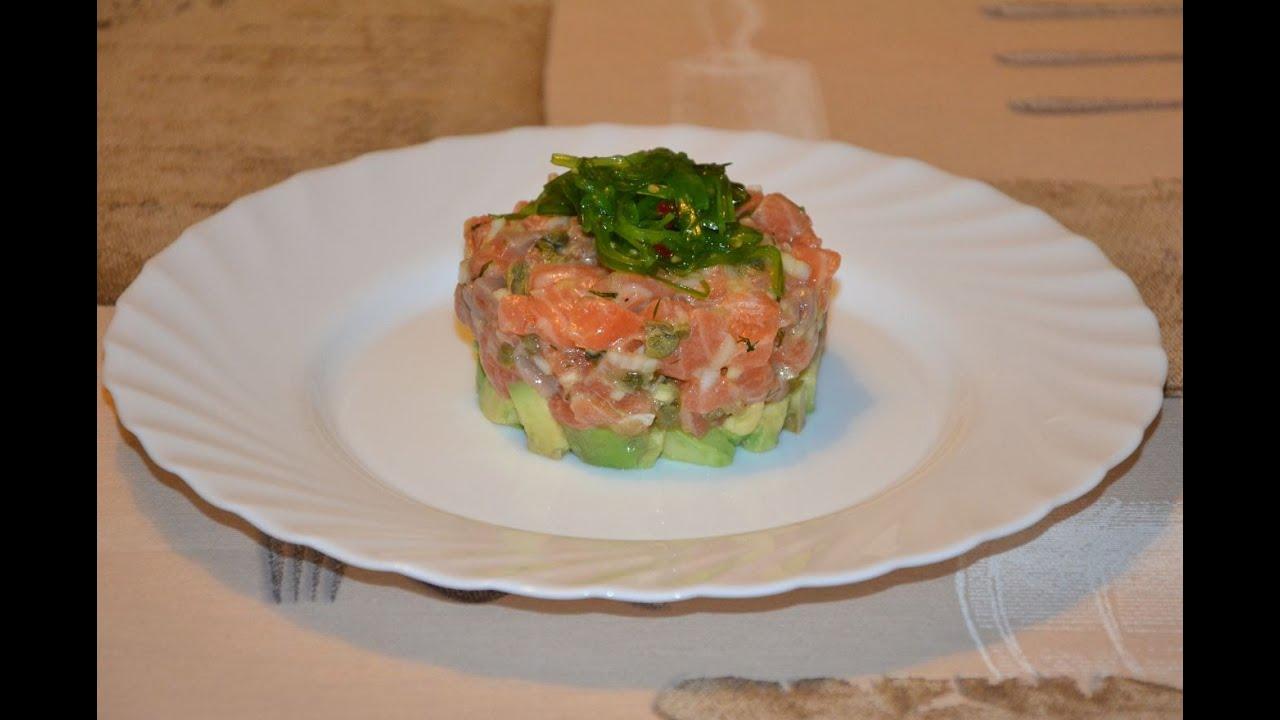 Tartar salmon ahumado mejor el de