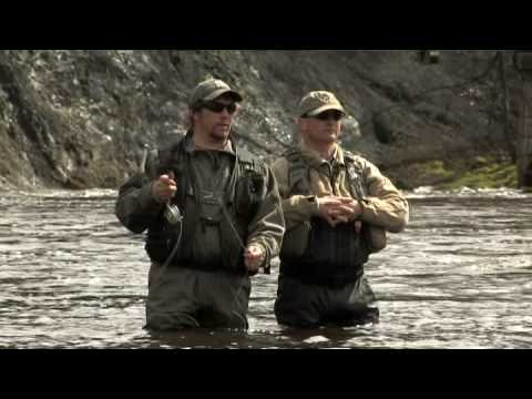 Early season trout fishing with john tyzack and dean for Fishing with john