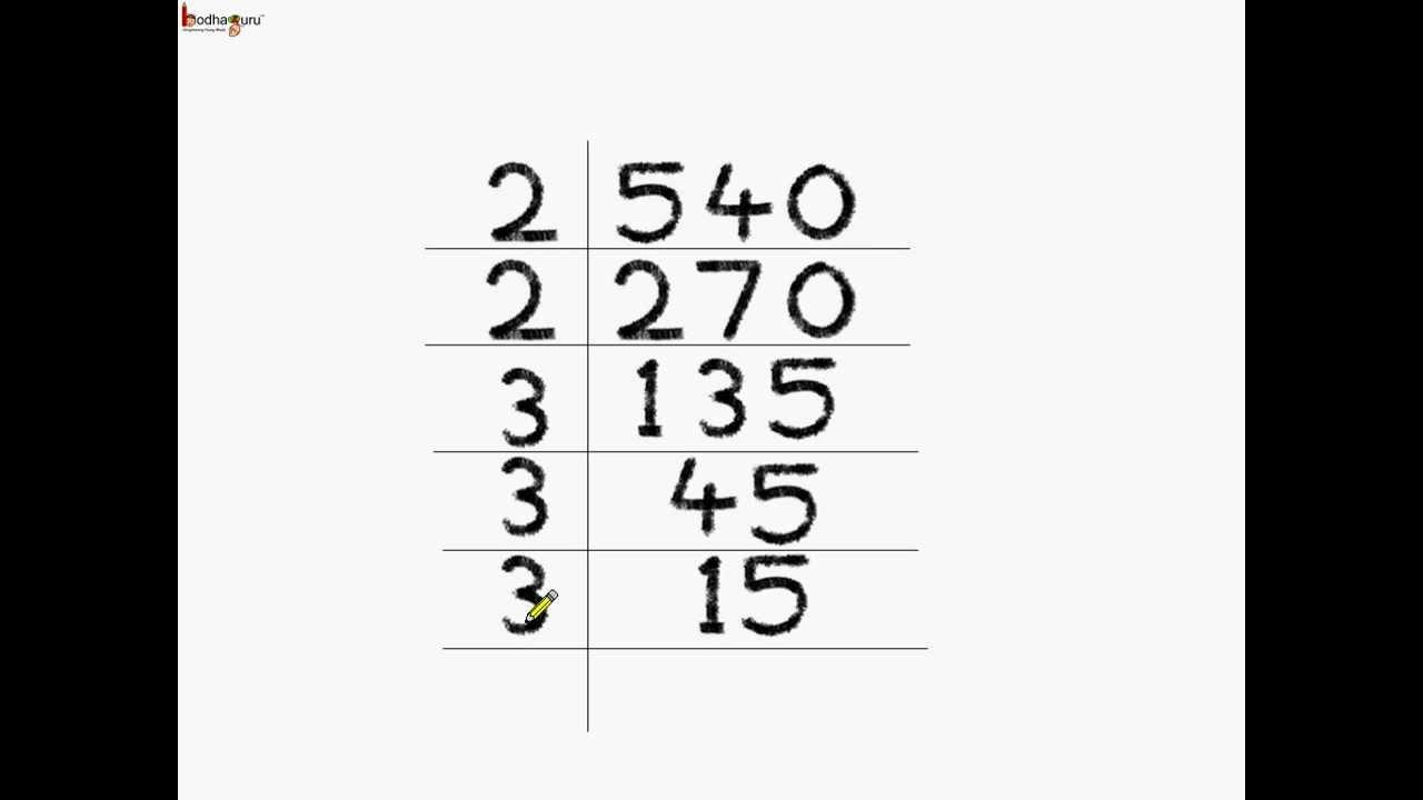 Math How To Do Prime Factorization English Youtube