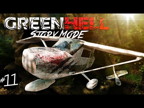 PLANE CRASH STORY | Green Hell Story Part 11 (Update 1.0)