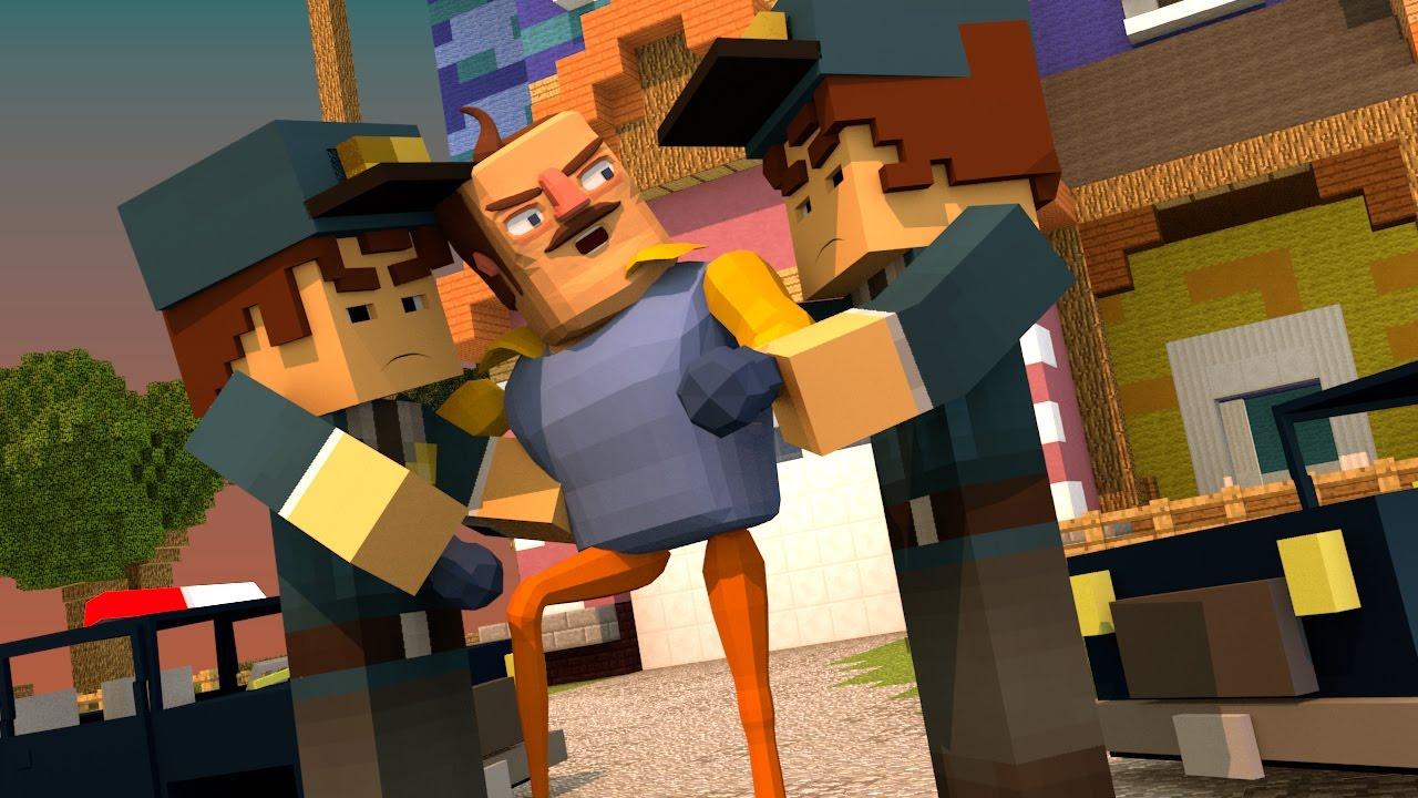 Minecraft hello neighbor neighbor locked away in jail for The atlantic craft minecraft