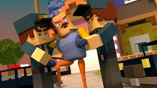 Minecraft | Hello Neighbor - NEIGHBOR LOCKED AWAY IN JAIL! (Hello Neighbor in Minecraft)