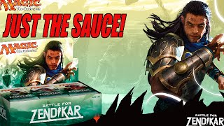 Sweet Battle For Zendikar Booster Box Opening! Just The Sauce