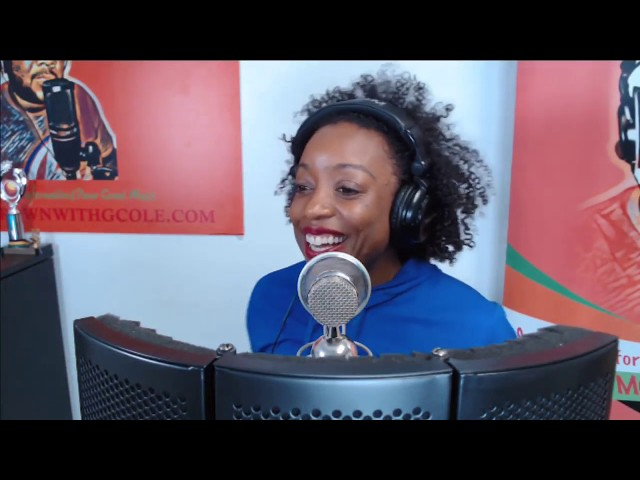 Kristine Alicia sings Love Liberation Live on the Homegrown with GCOLE