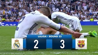 Real Madrid 2-3 Barcelona HD 1080i Full Match Highlights 230417
