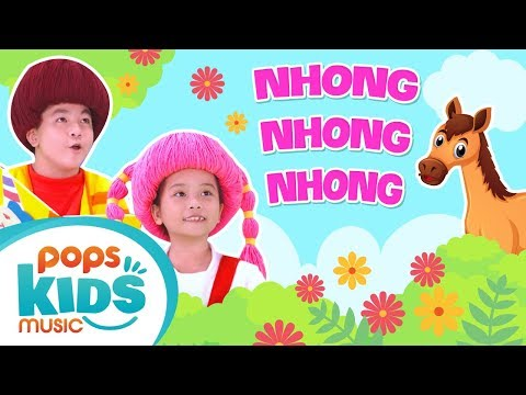 Mầm Chồi Lá - Nhong Nhong Nhong   Nhạc Thiếu Nhi Vui Nhộn - Kids Songs - Nursery Rhymes